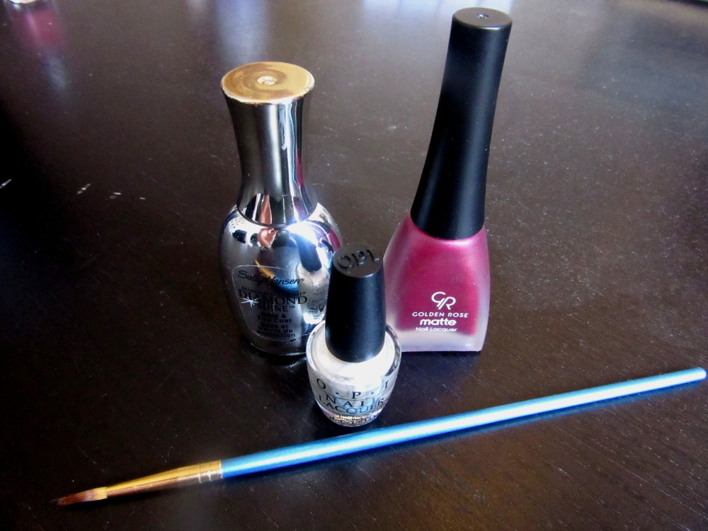 Easy stripe nails supplies