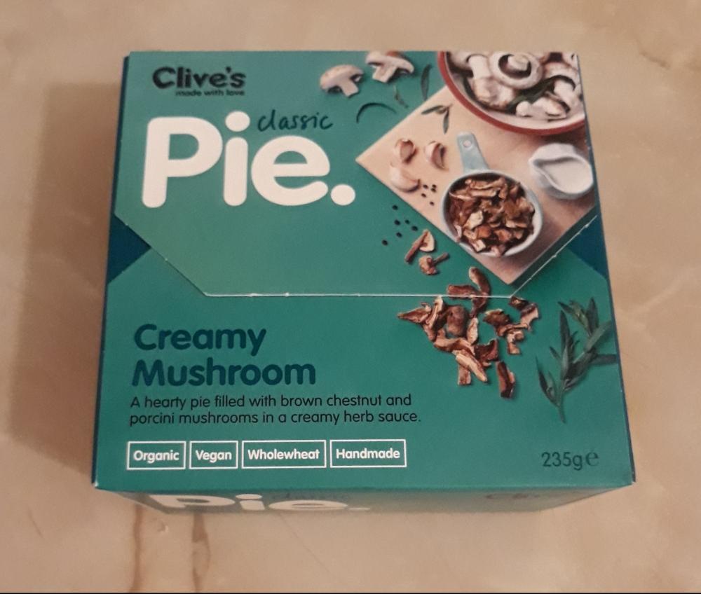 Clive vegan mushroom pie