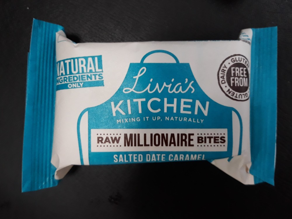 Livia's kitchen raw millionaires bites salted date caramel