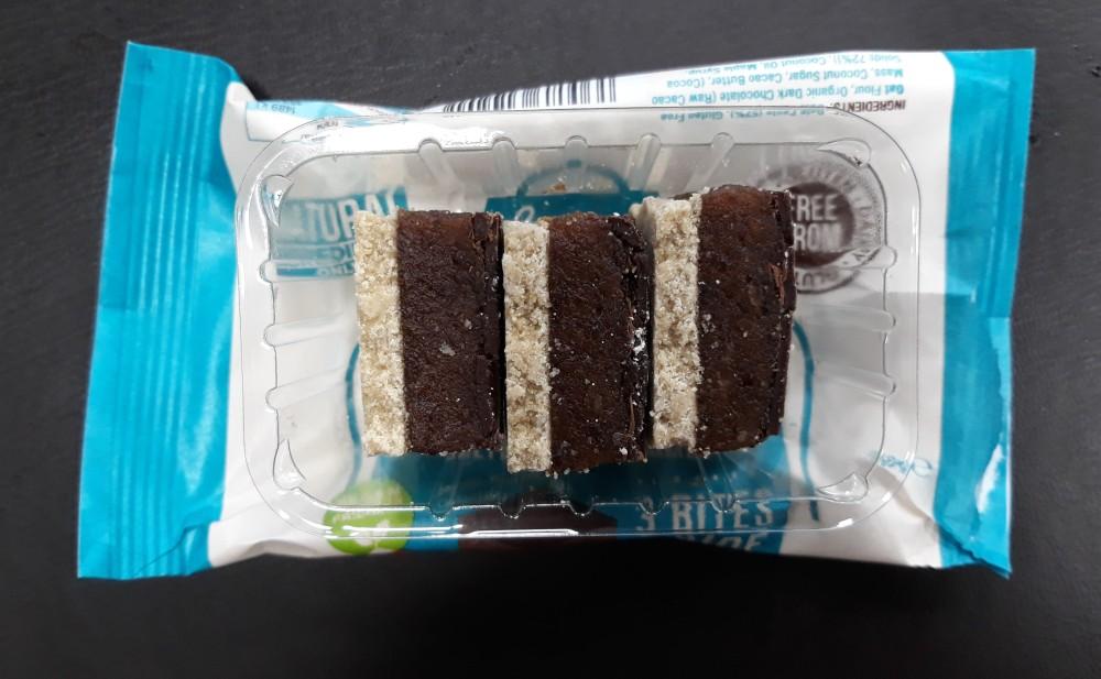 Livia's kitchen raw vegan millionaires bites salted date caramel