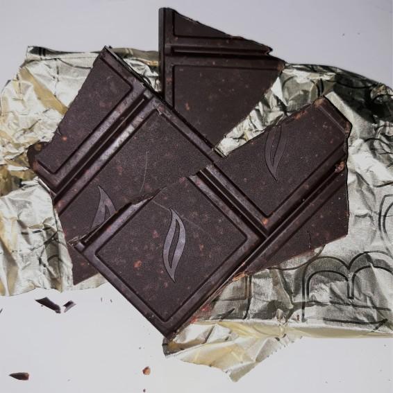 Green & Black raspberry and hazelnut chocolate broken