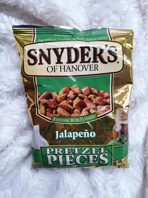 Snyders of hannover jalapeno pretzel pieces