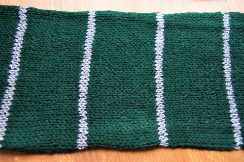 Slytherin scarf middle