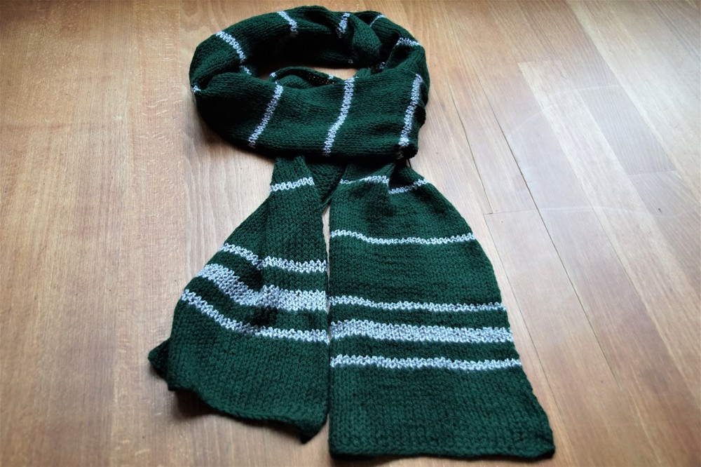 Slytherin scarf total