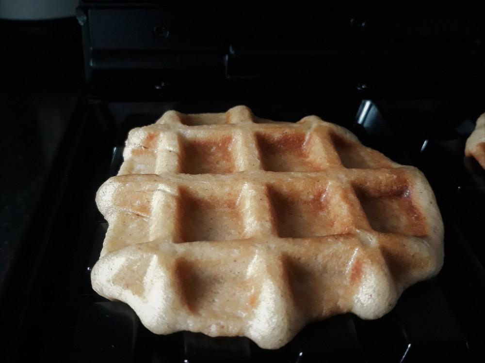 Liege waffle dough after baking