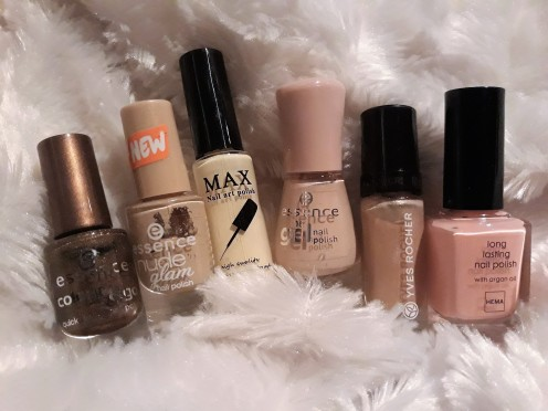 Nude pumpkin colours