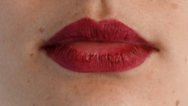 YSL lip tatouage couture matte stain 8 after eating