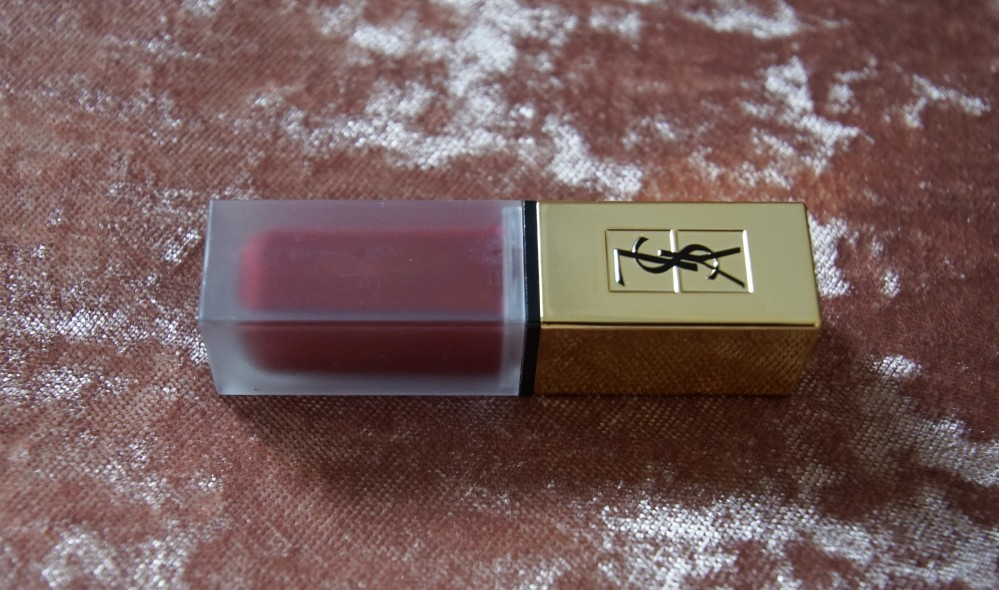 YSL lip tatouage couture matte stain 8 gold