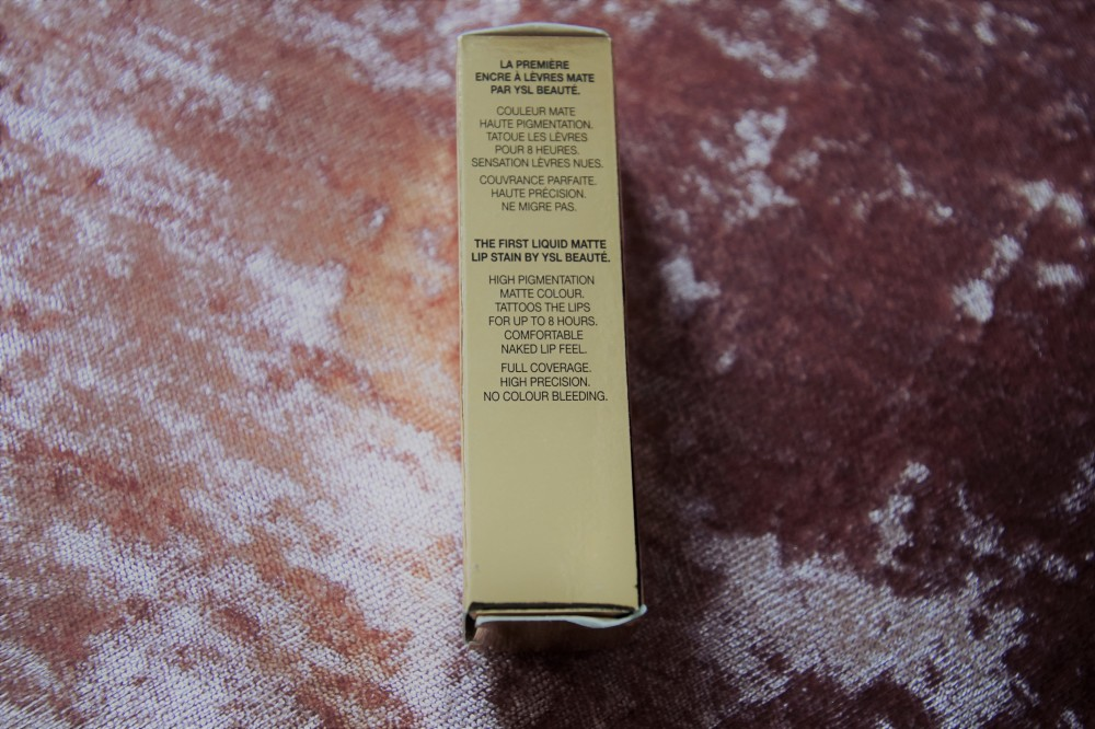 YSL lip tatouage couture matte stain 8 promisses.2